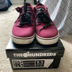 The Hundreds Shoes (Johnson Mid Canvas)